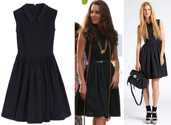 Kate-Royal-Solomon-Islands-Mulberry-Midnight-Blue-Eyelet-Dress