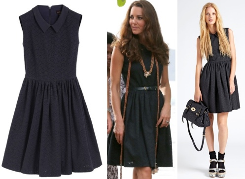 Kate-Royal-Solomon-Islands-Mulberry-Midnight-Blue-Eyelet-Dress