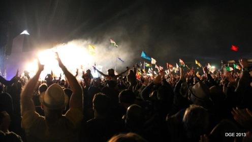 M&S crowd