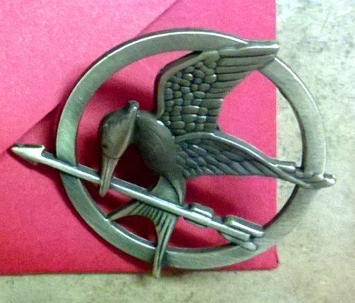 Mockingjay pin-w