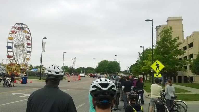 Riverfest Bicycling