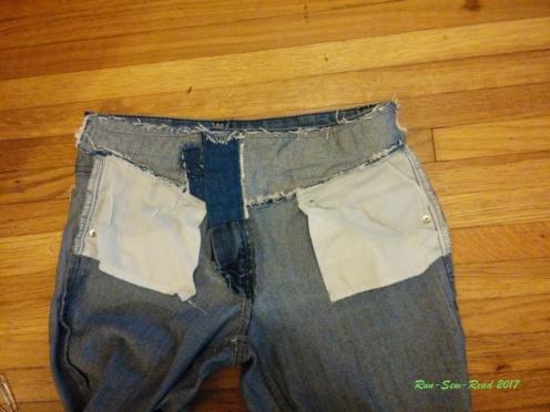 Jeans finished inside--RSR