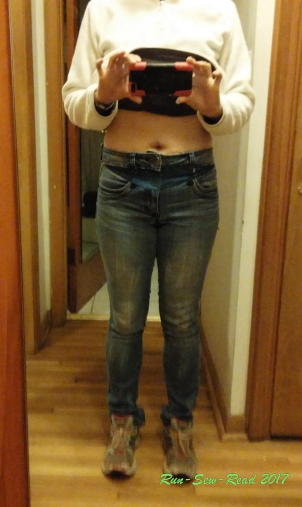 Jeans modeling after--RSR