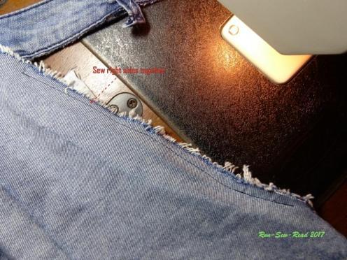 Jeans seam--RSR