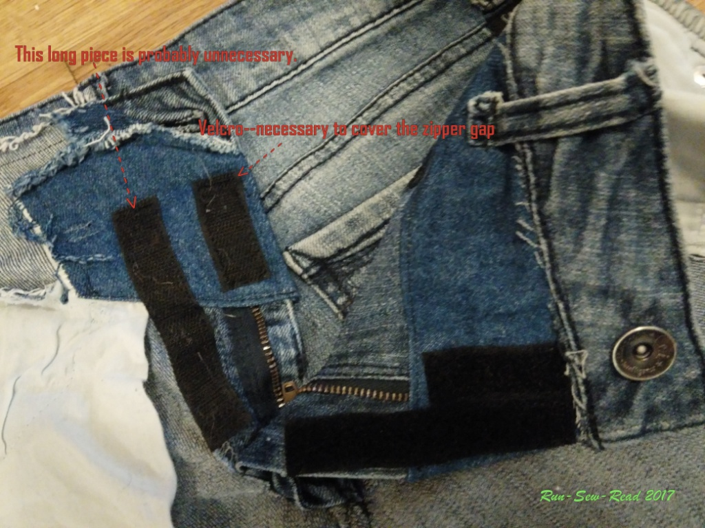 Jeans velcro--RSR
