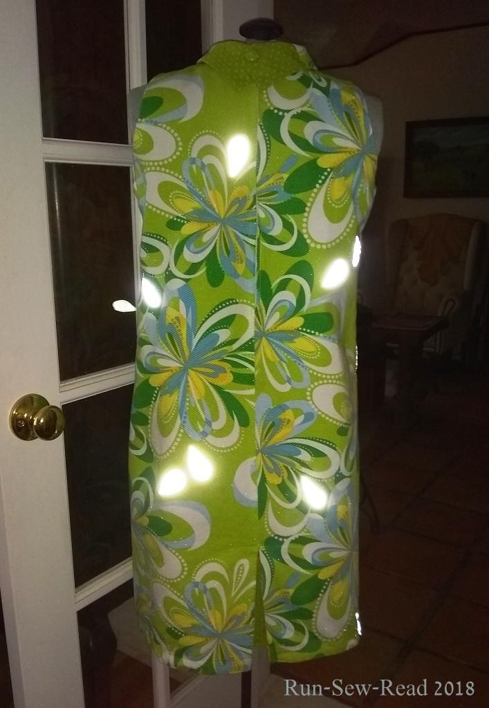 Back reflector flash a-w