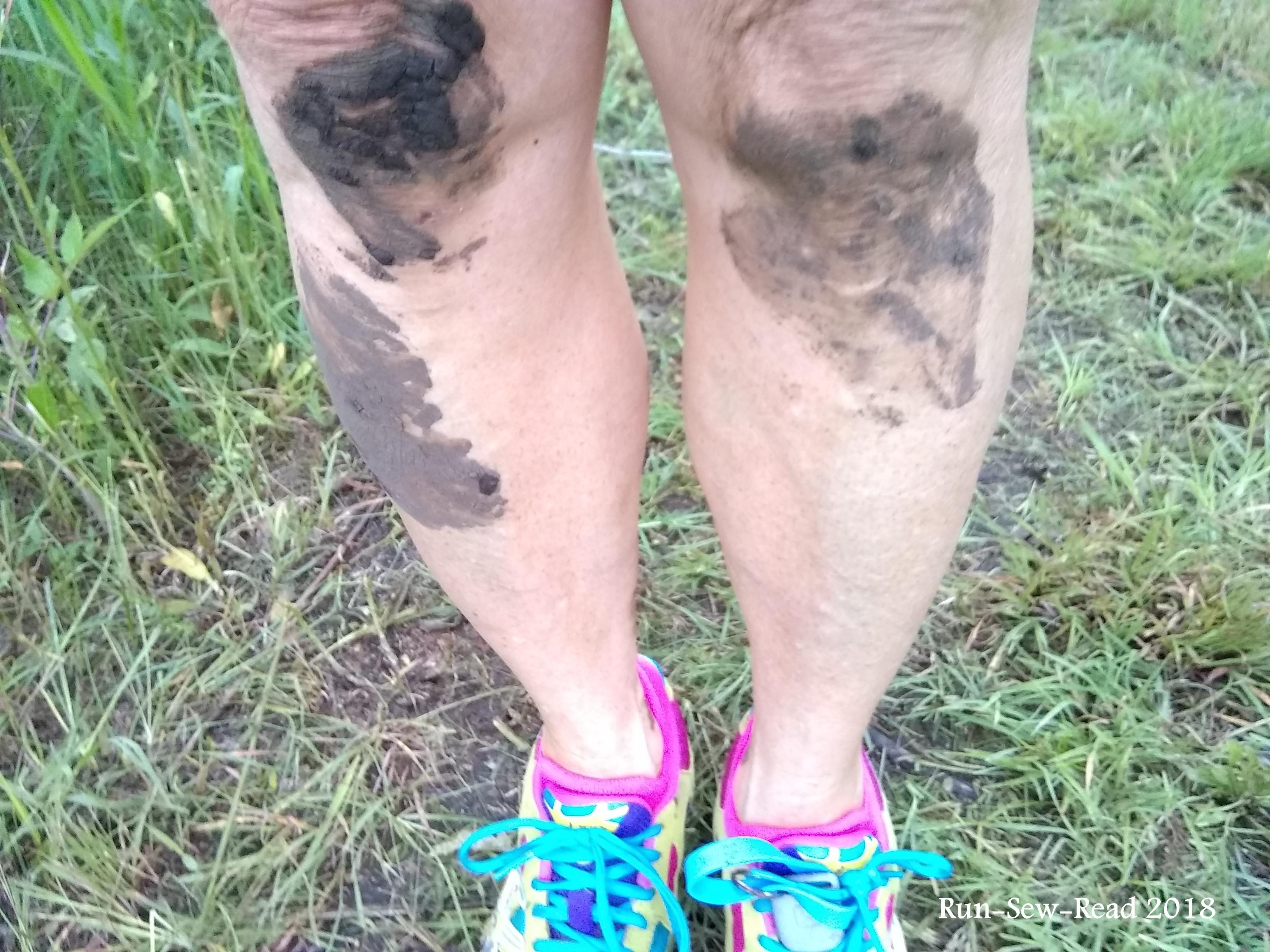 STD muddy legs