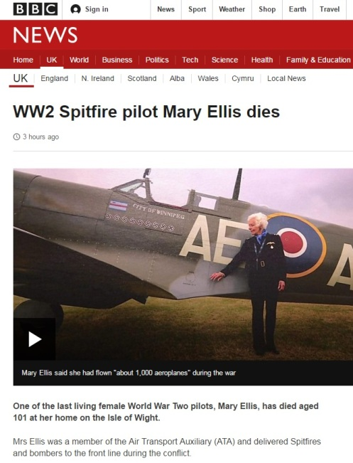 Woman WWII pilot