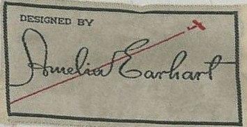 Amelia Earhart fashion label a