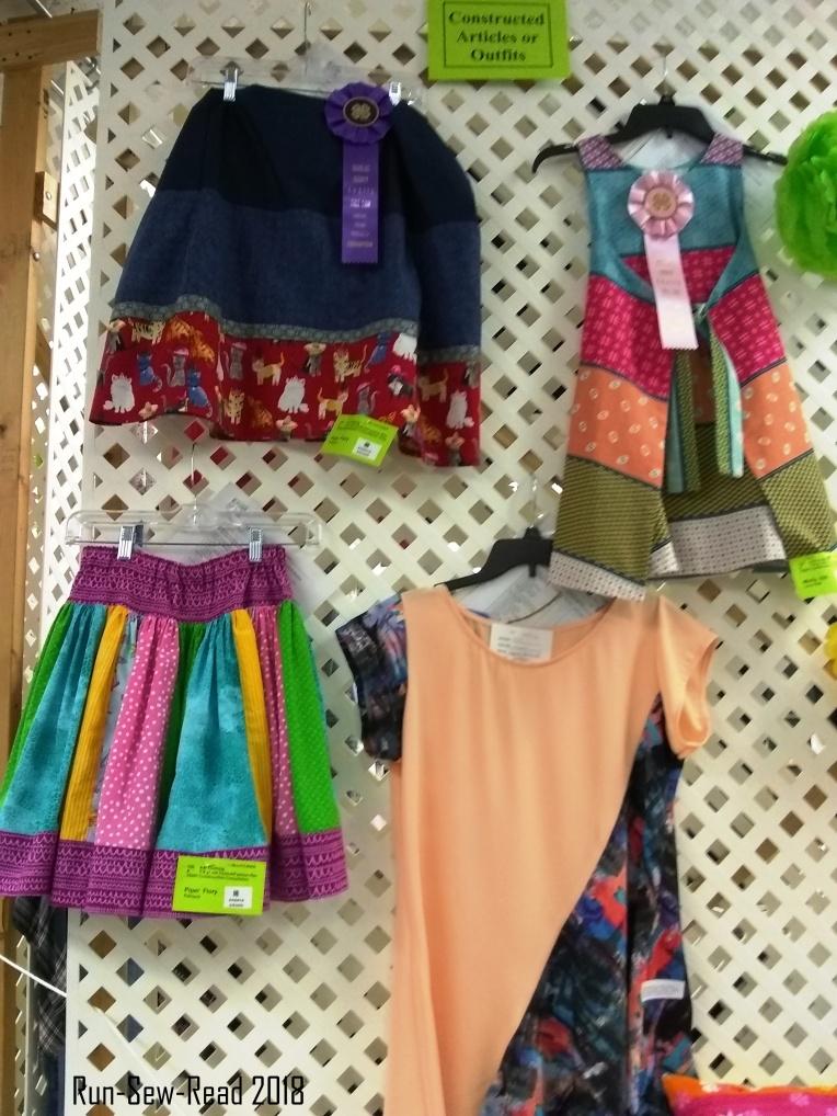 DG County Fair garment construction grade school age