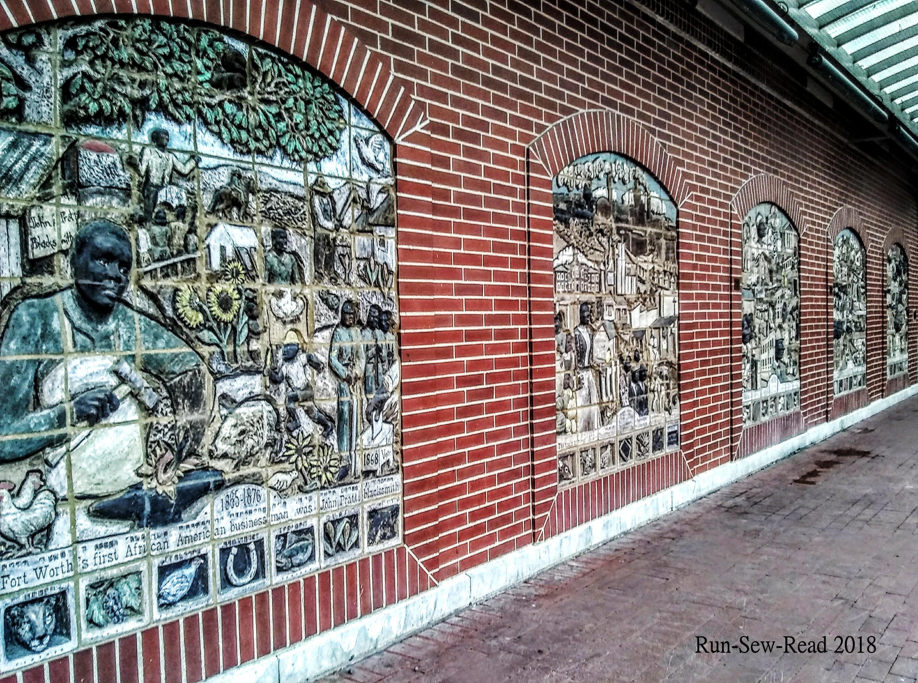 Ft Worth ITC murals