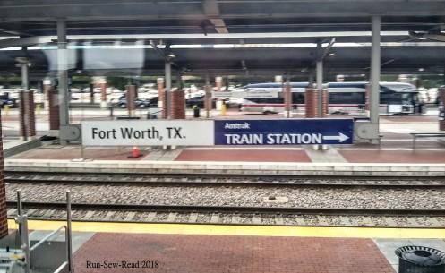 Ft Worth station sign