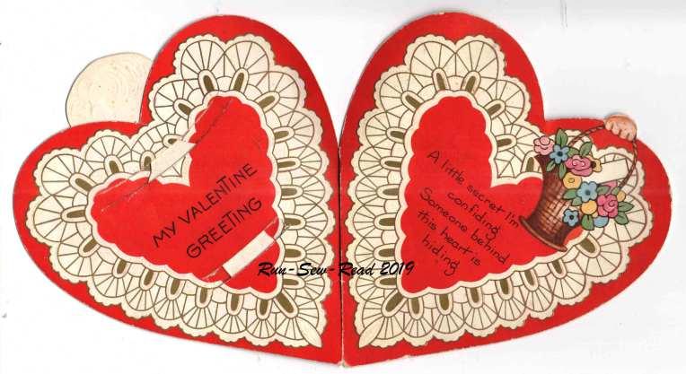 Grandmas paper doll valentine 1920s-Mary open RSR