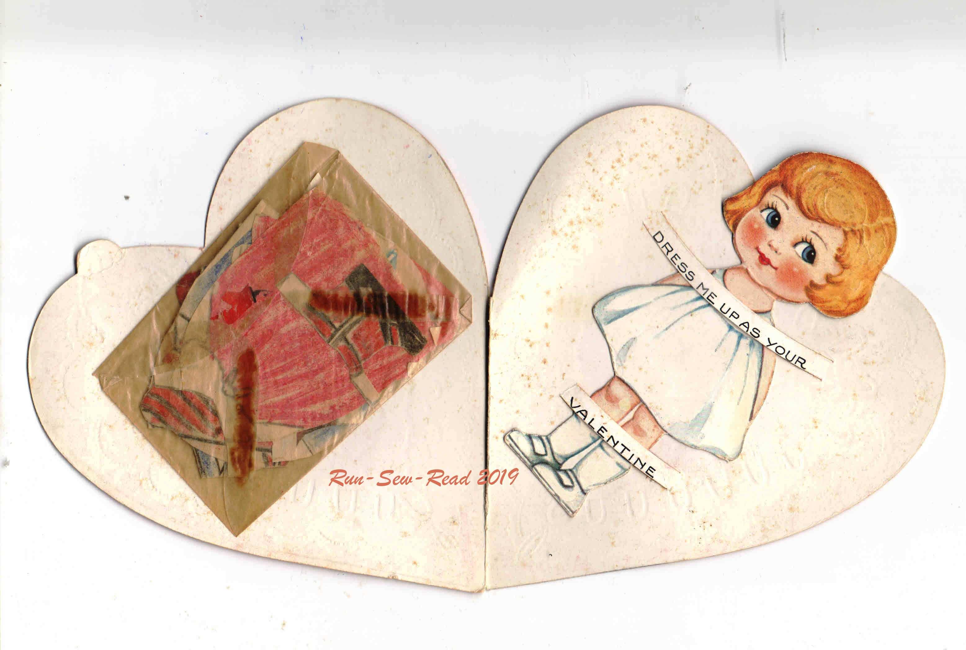 Grandmas paper doll valentine 1920s-Mary2 RSR