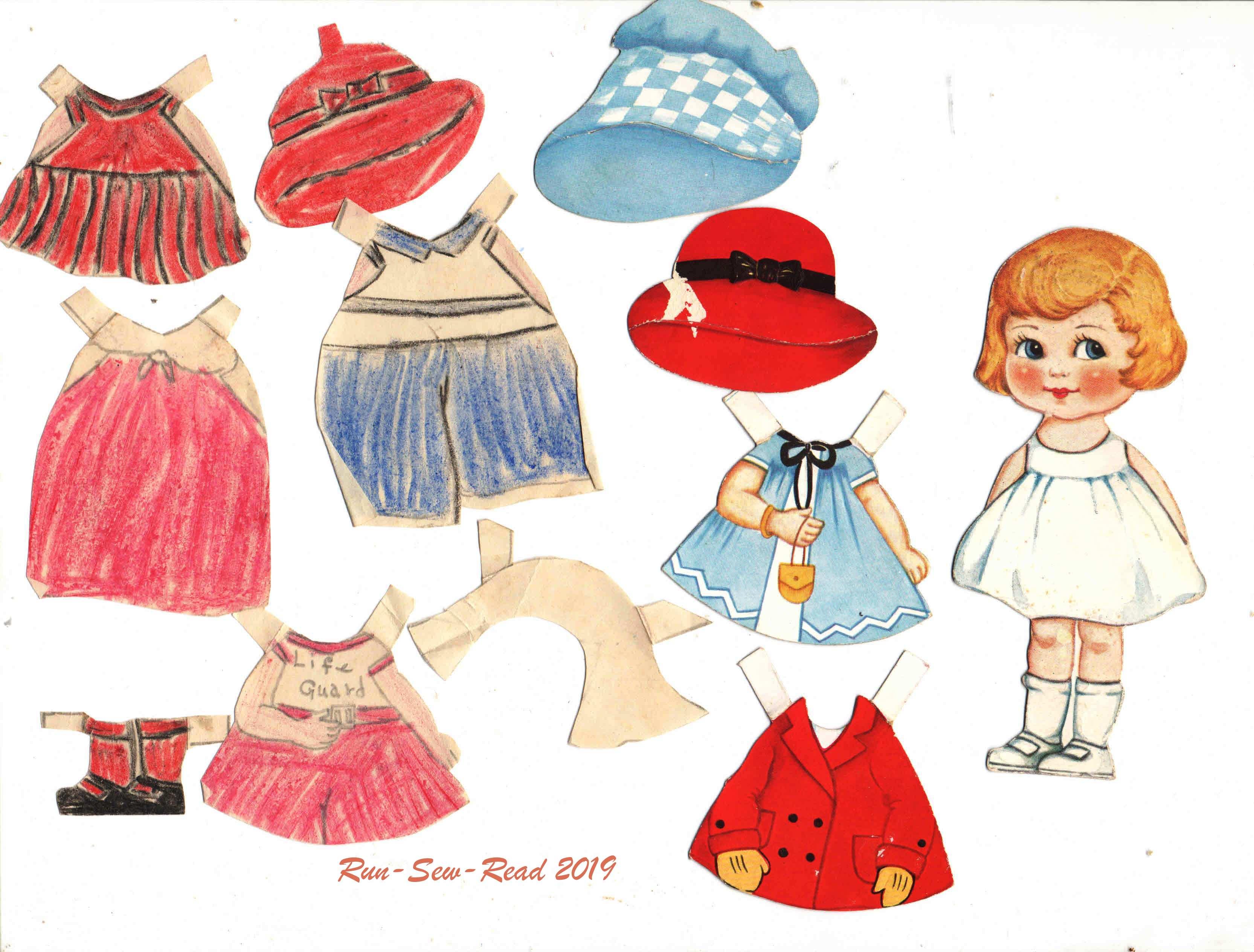 Grandmas paper doll valentine 1920s-Mary3 RSR