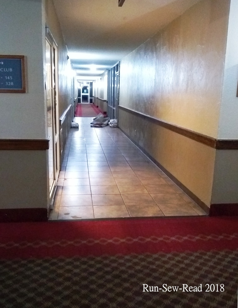 Hotel water damage