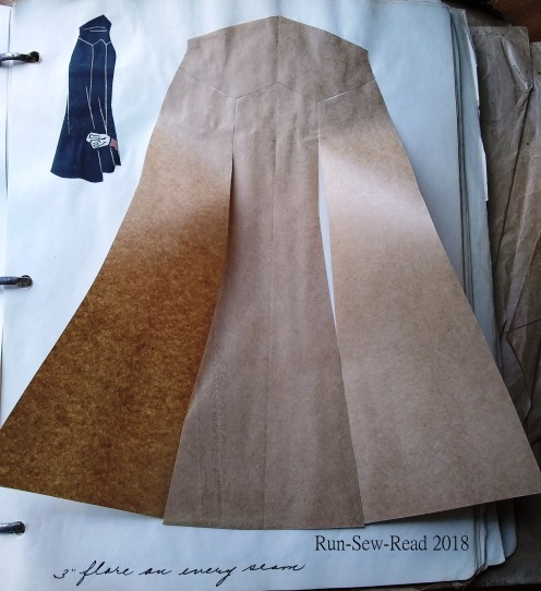 Skirt with 4 inch flares RSR