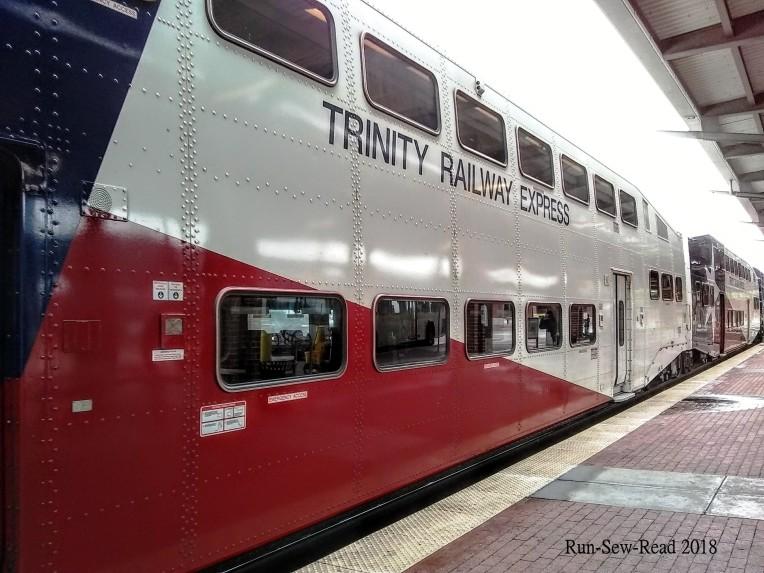 TRE regional commuter train