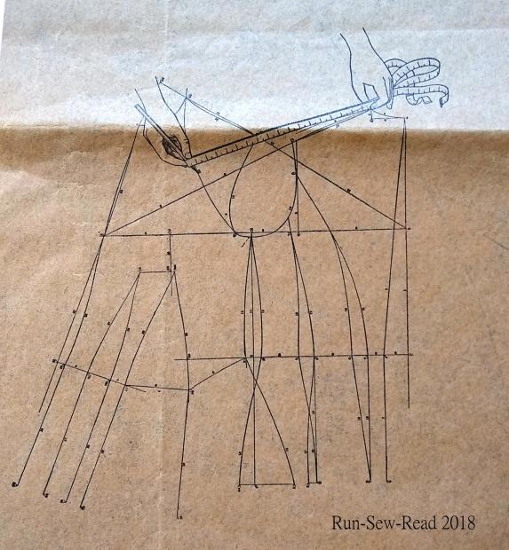 Sweeping lines diagram