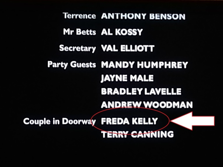 Credits pointing to Freda Kelly