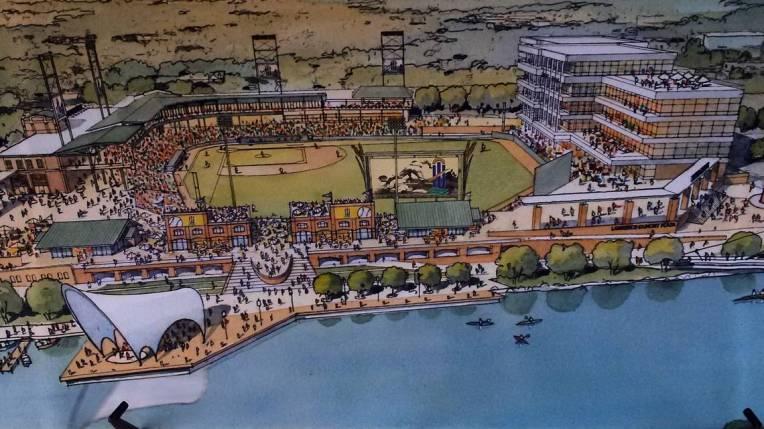New Lawrence Dumont Stadium rendering 9-2018