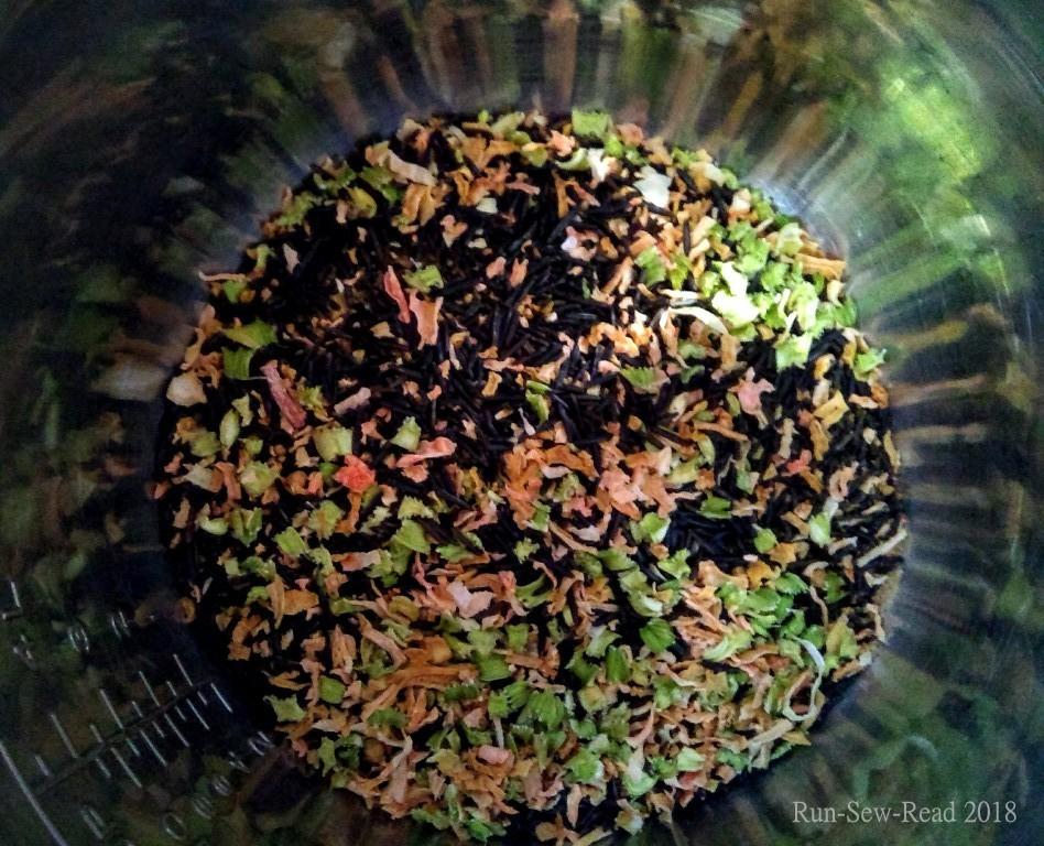 Dried wild rice soup w RSR