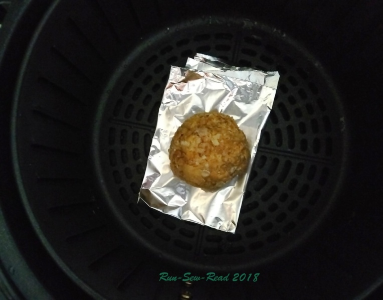 fried ice cream in fryer