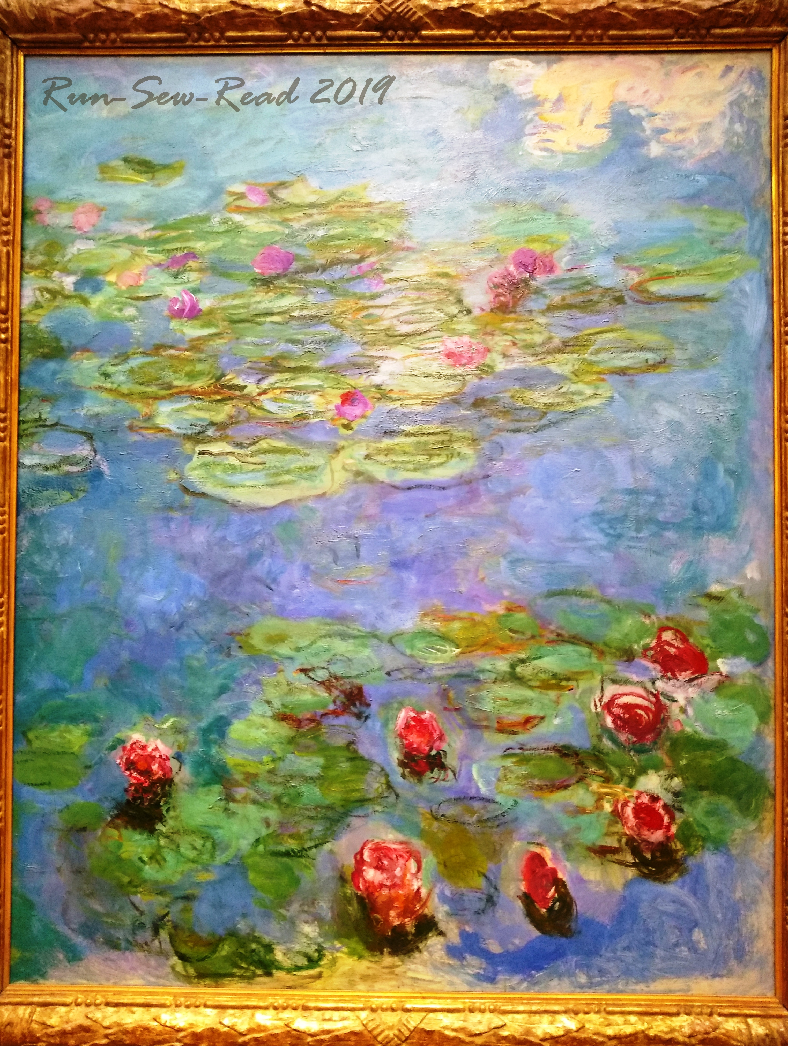 Monet water lillies RSR