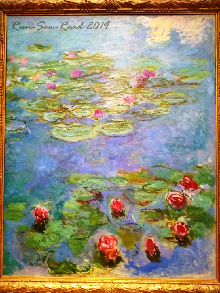 Monet water lillies RSR