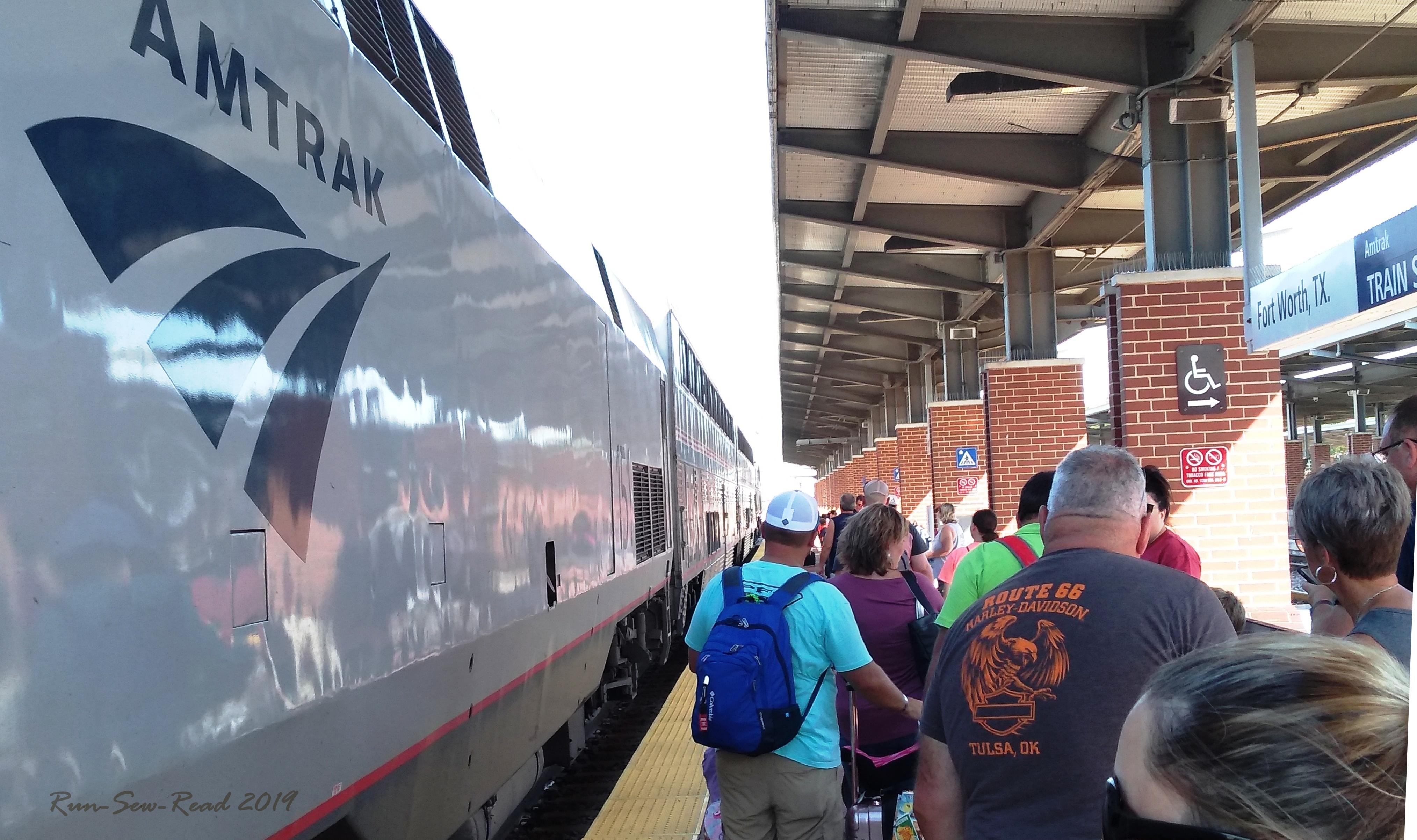 Train boarding RSR