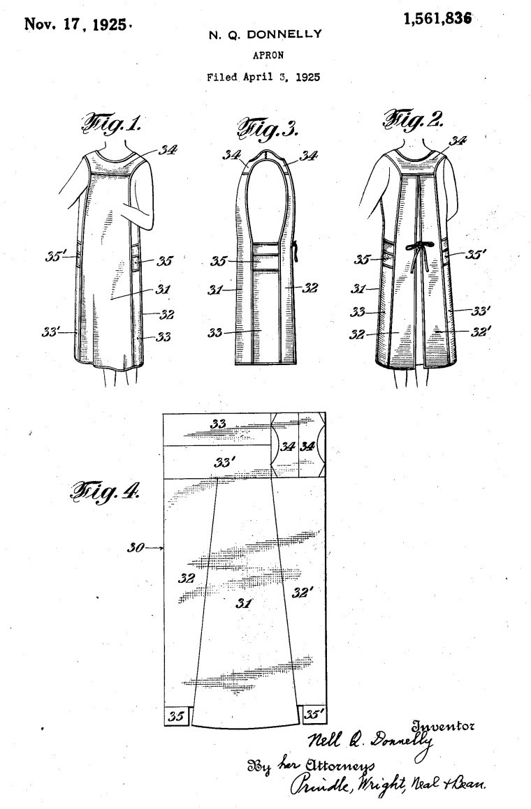 Nelly Don patent drawings